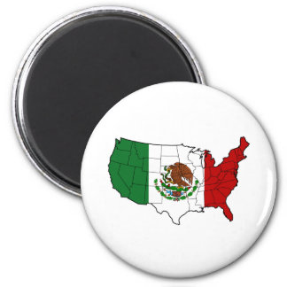 United States of Mexico Magnet
