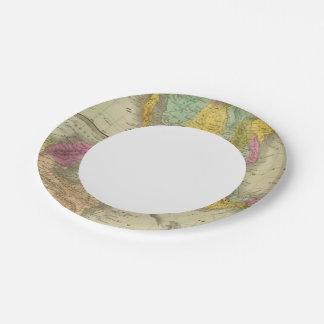 United States Of Mexico Paper Plate