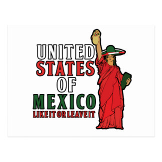 United States of Mexico Postcard