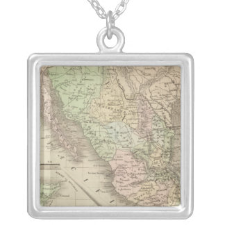 United States of Mexico Silver Plated Necklace
