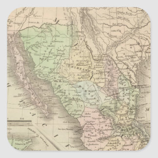 United States of Mexico Square Sticker