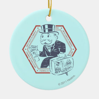 United States of Monopoly Ceramic Ornament