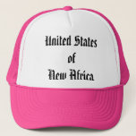 United States of New Africa (USNA) Trucker Hat