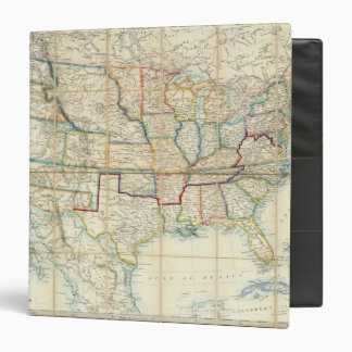 United States Of North America 2 3 Ring Binder