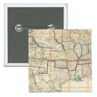 United States Of North America 2 2 Inch Square Button