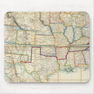 United States Of North America 2 Mouse Pad