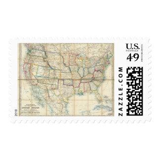 United States Of North America 2 Stamp