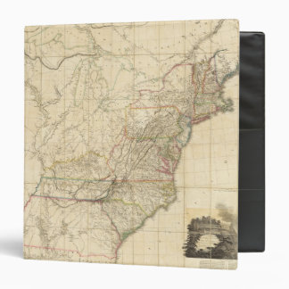 United States Of North America 3 Ring Binder