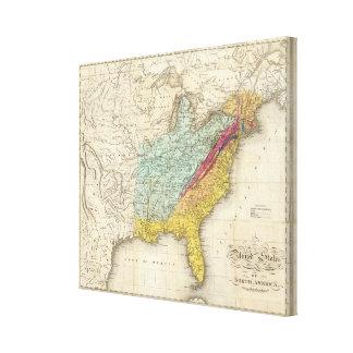 United States of North America Canvas Print