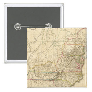 United States Of North America Pinback Button