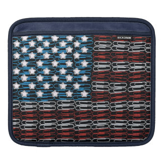 United States of Paperclips iPad Sleeve