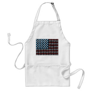 United States of Paperclips USA Adult Apron