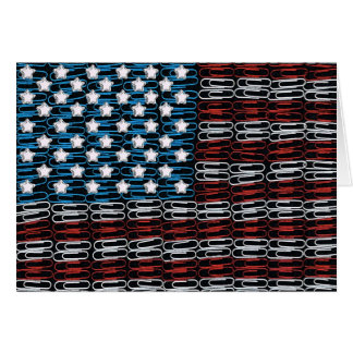 United States of Paperclips USA Card