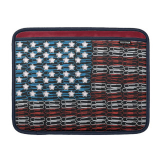United States of Paperclips USA Sleeves For MacBook Air