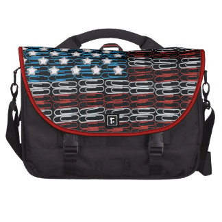 United States of Paperclips USA Laptop Bag