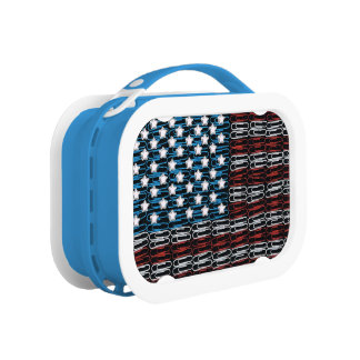 United States of Paperclips USA Lunchbox