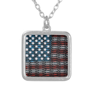 United States of Paperclips USA Personalized Necklace