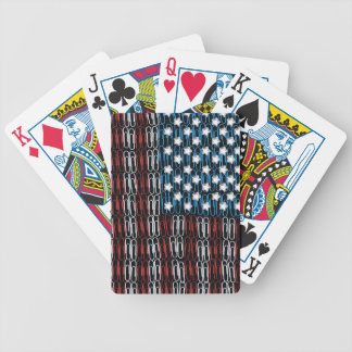 United States of Paperclips USA Bicycle Playing Cards