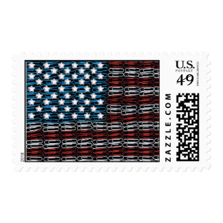 United States of Paperclips USA Postage