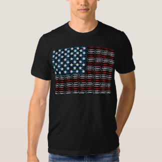 United States of Paperclips USA T-shirt