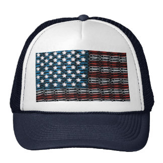 United States of Paperclips USA Trucker Hats