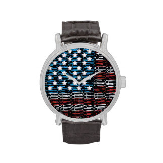 United States of Paperclips USA Watches