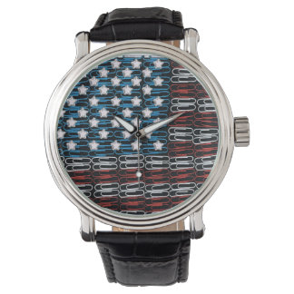 United States of Paperclips USA Wristwatch