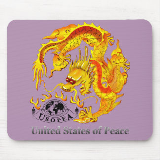 United States of Peace Mouse Pad
