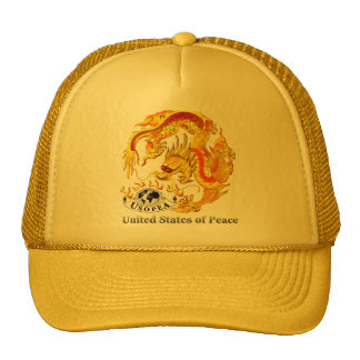 United States of Peace Trucker Hat