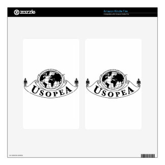 United States of Planet Earth, USOPEA Decals For Kindle Fire