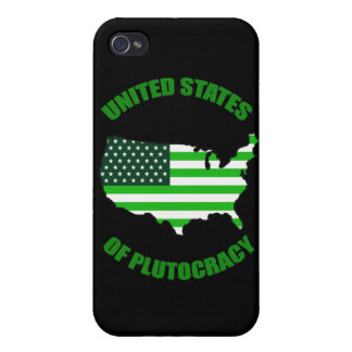 United States of Plutocracy iPhone 4/4S Cover