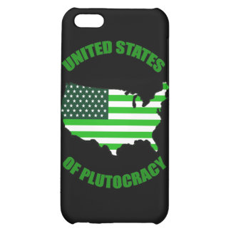 United States of Plutocracy iPhone 5C Cases