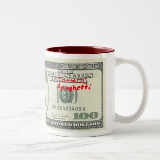 United states of Spaghetti coffee mug