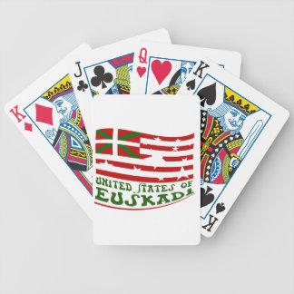 United States off Euskadi 2 Bicycle Playing Cards