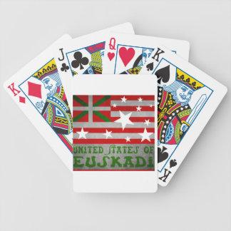 United States off Euskadi Bicycle Playing Cards