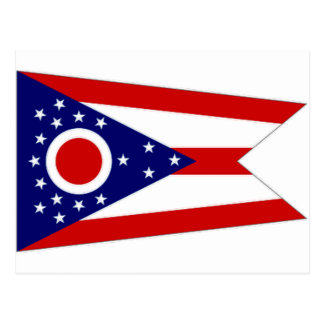 United States Ohio Flag Postcard