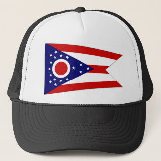 United States Ohio Flag Trucker Hat
