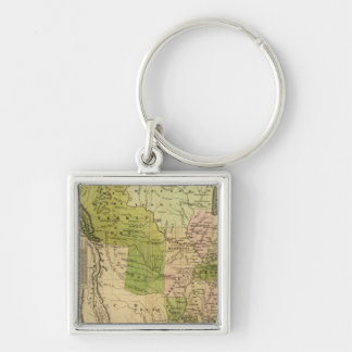 United States Olney Map Key Chains