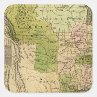 United States Olney Map Sticker