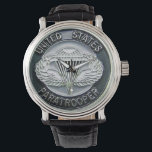 """United States Paratrooper Wrist Watch<br><div class=""""desc"""">Airborne! All The Way!</div>"""