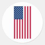 United States patriotic flag Stickers