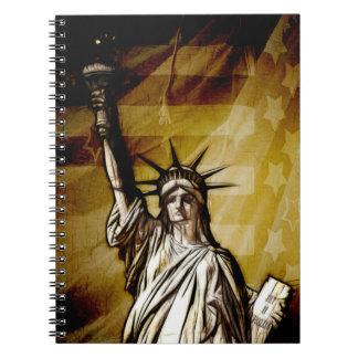 United States Patriotic Notebook