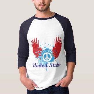 United States Peace Sign T-shirt