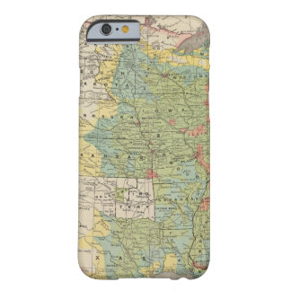 United States Population Density, 1890 Barely There iPhone 6 Case