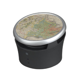 United States Population Density, 1890 Bluetooth Speaker