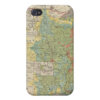 United States Population Density, 1890 Cover For iPhone 4