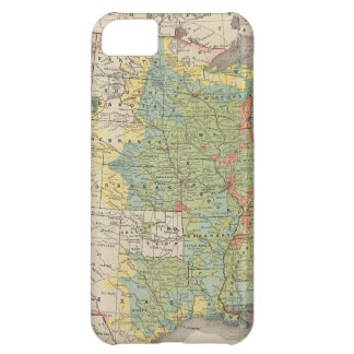 United States Population Density, 1890 Cover For iPhone 5C
