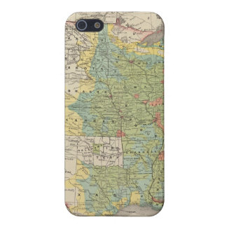 United States Population Density, 1890 Cover For iPhone SE/5/5s