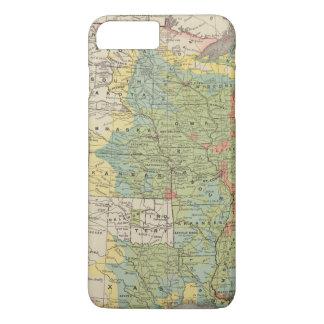United States Population Density, 1890 iPhone 8 Plus/7 Plus Case