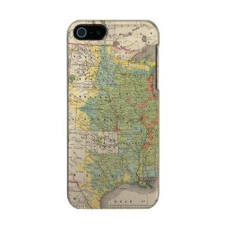 United States Population Density, 1890 Metallic iPhone SE/5/5s Case